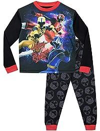 Power Rangers Pijamas de Manga Larga para niños Ninja Steel