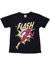 T shirt DC Comics Flash courant noir