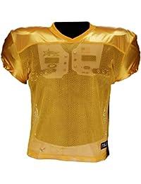 Active Athletics American Football Entrenamiento Camiseta, Color Amarillo, tamaño Extra-Large