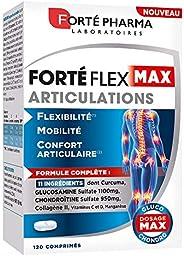 Forté Flex Max Articulations | Complément Alimentaire à base de Curcuma, Sélénium et Sulfate de Glucosamine -