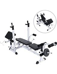 Physionics - HNTLB05 - Banco de musculación - Diferentes posibilidades de entrenamiento