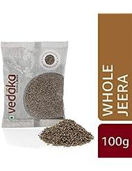 Amazon Brand - Vedaka Cumin (Jeera) Seed, 100g