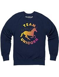 Team Unicorn Sweatshirt mit Rundhals, Herren