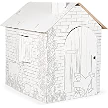 Small Foot 10015 Cardboard Play House by Small Foot