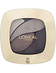 L'Oréal Paris Farbe Riche Eye Shadow Quad - E4 Marron Glace - Packung mit 6