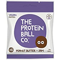 The Protein Ball Co Peanut Butter + Jam 45g (pack of 10)