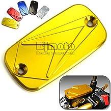 BJ Global resistente motocicleta CNC frontal tapa de depósito de líquido para Honda CB 400SF CBF600S CBR600F CBR600RR Hornet CBF 500600plateado Wing 600