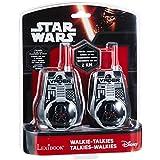 Star Wars - Walkie-talkie, color negro (Lexibook TW35SW)