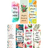 Sangra Printed Bookmarks of Synthetic Paper | Book Lovers Gift | Gift for Readers| Pack of 21