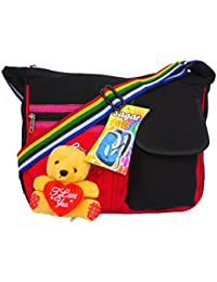 Xclent Messenger Bag, Side Bag, Sling Bag, CrossBody Bag, Casual Bag, Outing Bag For Men And Women With Teddy...