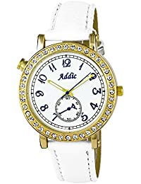 Addic Bold & Beautiful White & Gold Women's Watch