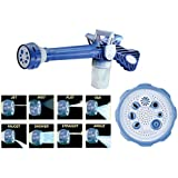 Best Quality EZ Jet Cannon 8-in-1 Turbo Water Spray Gun (Blue)