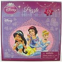 Disney Princess 48 Piece Puzzle - Jasmine, Snow White, Cinderella by Cardinal Industries