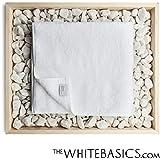 The White Basics - Menorca - Toalla de baño de algodón egipcio de 90 x 160 cm
