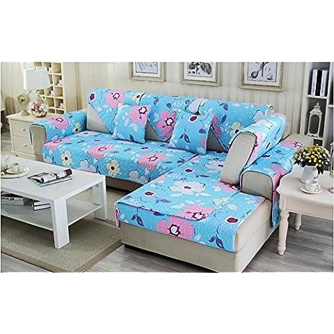 New day-Pastorale cotone divano cuscino materasso in cotone semplice e