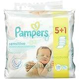 Pampers Sensitive Lingettes pour bébé 4 packs (4 X 336 lingettes)