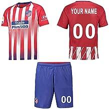WFhome Camisetas de fútbol Personalizadas del Campo de Club Atlético de Madrid casa Campo de fútbol