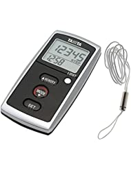 Tanita® Digitaler Schritt-Zähler, Kalorienzähler, verschiedenen Funktionen, für Fitness, mit LCD-Display, 3-Achsen-Beschleunigungssensor & Alarm