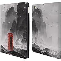 Ufficiale Daniel Conway Cabina telefonica Scene Surreali Cover a portafoglio in pelle per Apple iPad Air 2