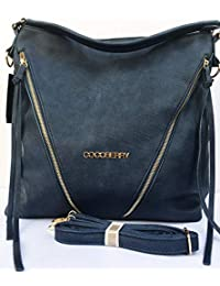 Cocoberry Multipurpose Premium Quality PU Leather Classic And Stylish Bag Tote Bag   Casual And Good Looking Shoulder... - B07HN9RCC8