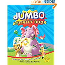 Jumbo Activity Book with 365 Activity