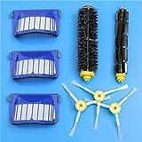 Yongse 8pcs Kit de reemplazo del filtro Cepillo para iRobot Roomba serie 600 accesorios para aspiradoras Sustitución