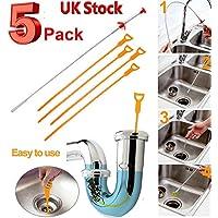 Kit de herramientas de limpieza para fregadero de cocina, bañera, ducha, 5 unidades