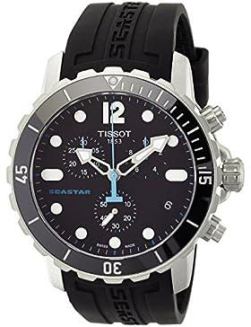 Tissot Herren-Armbanduhr Chronograph Quarz Kautschuk T066.417.17.057.00