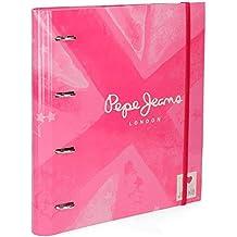 Cuaderno con anillas Pepe Jeans Clea