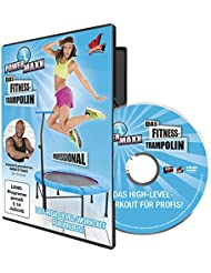 TV unser Original Trainings DVD Power Maxx Fitness Trampolin Professional, 00178