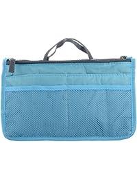ShopAIS Multipurpose Gift Pencil Pouch Travel Kit Makeup Toilet Handbag Organizer (ASSORTED COLOR)