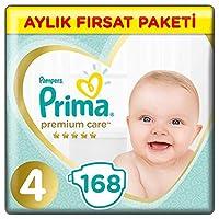 Prima Bebek Bezi Premium Care 4 Beden, Beyaz