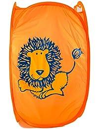 Cesto pongotodo Infantil vertical Animales (59.5x34x33 cm) - Naranja