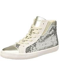 b8267d28ce30 Amazon.fr   Geox - Argenté   Chaussures femme   Chaussures ...