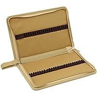 Zhengdu portatile-Astuccio in tela, con cerniera, 48 carte-Custodia ad astuccio per matite cachi - Out Pannello