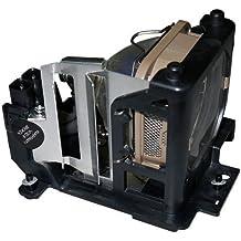 CTLAMP DT00671 Proyector Lámpara de repuesto con carcasa para HITACHI CP-HS2050 / CP-HX1085 / CP-HX2060 / CP-S335 / CP-S335W / CP-X335 / CP-X340 / CP-X340W / CP-X345 / CP-X345W / ED-S3350 / ED-X3400 / ED-X3450 Modelos