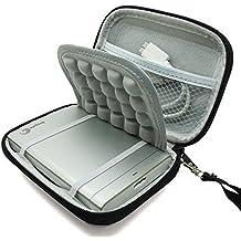 """Marktore(TM) Stoßsichere schwarze Schutzhülle/Tasche / Festplattentasche für 2.5"""" inch Toshiba Canvio Basics/Seagateup Plus External/Transcend/Samsung M3/ WD My Passport Ultra Elements Hard Drive HDD tragbare, externe Festplatte 750GB 1TB 2T"""