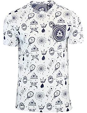 Camiseta Manga Corta para Hombre Volcom Safari LW S//S