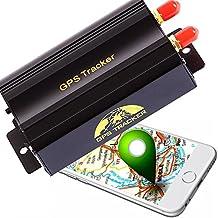 AFTERPRATZ®OVO-103B Antifurto GPS professionale, localizzatore + telecomando GPS, trasmettitore GSM, monitoraggio online del veicolo, APP per iOS e Android