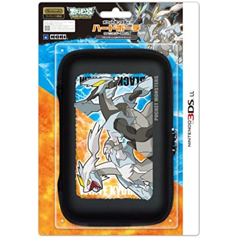 Pokemon Kyurem & White Kyurem Hard Case For Nintendo 3DS LL [Importación Japonesa]
