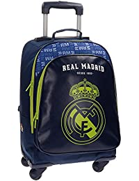 Real Madrid 5632852 Champions Equipaje Infantil, 50 cm, 33.6 Litros, Multicolor
