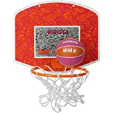 KIPSTA MINI BASKETBALL BACKBOARD SET - ORANGE PINK