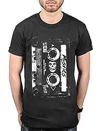 Official Misfits Plan 9 Cassette T-Shirt American Psycho Devil's Rain Project 1950
