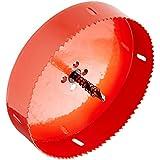 6mm Foret hélicoïdal de coupe 155mm Diamètre trou Scie Rouge pour percer le bois