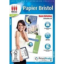 Papier Bristol Recto Verso