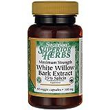 Swanson Herbs Max St White Willow 500Mg 60 Veg Capsules