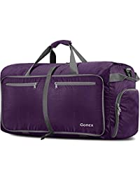 Gonex Bolsa de Viaje 150L, Plegable Ligero Bolso Equipaje Maleta Grande Bolsas Deportes Gimnasio Maletas de Mano Impermeable Duffel Travel Bag para Hombres y Mujeres Fin de Semana