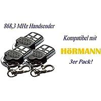 Nachfolger Digital 302 * 3 x Marantec Digital 382 Mini Handsender 433 MHz Funksender Fernbedienung Garagentor/öffner 122421