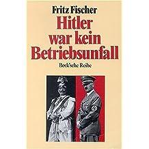 Hitler war kein Betriebsunfall: Aufsätze