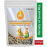 Boltz Food for Cockatiel & Lovebird 1200 Gm